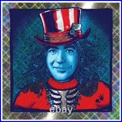 ZOLTRON Captain Trips Jerry Garcia Bicycle Day Poster Print FOIL variant S/N /25